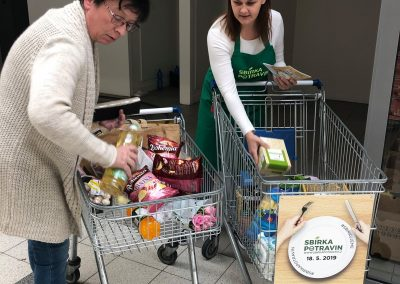 Sbírka potravin 2019